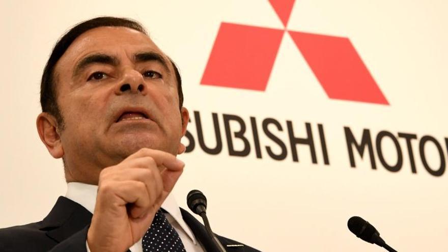 Mitsubishi decide cesar a su presidente tras su detención