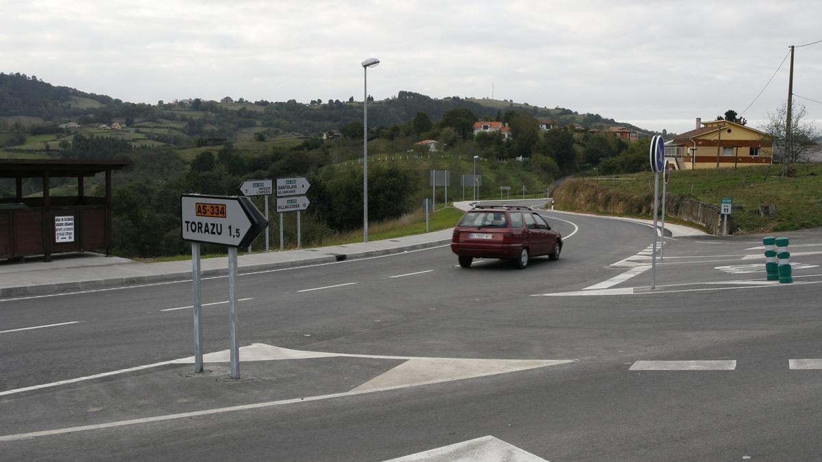 Accesos al municipio de Piloña.