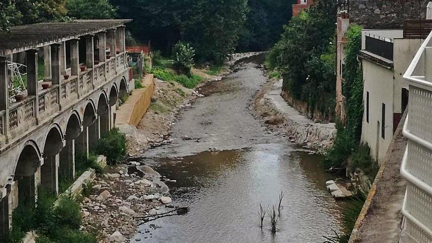 Finalitzen les obres de la xarxa  de sanejament d'aigües d'Arbúcies