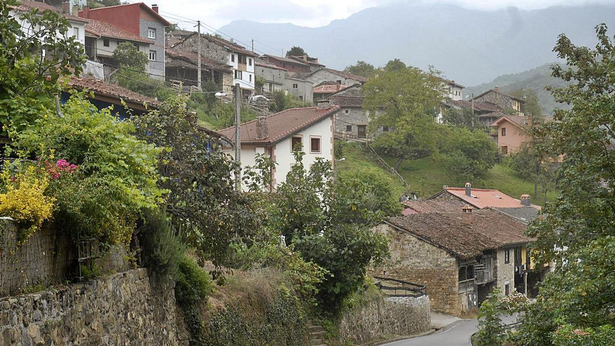 El pueblo casín de Caleao.