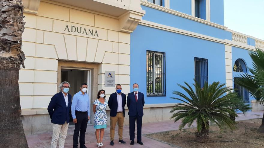 Vuelve el edificio de Aduanas al Grau de Castelló con la presencialidad para la campaña de la renta
