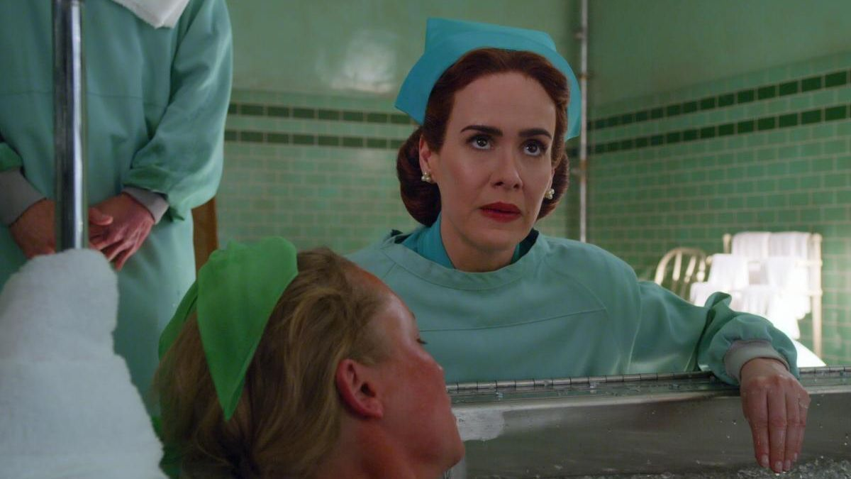 Sarah Paulson como Mildred Ratched.