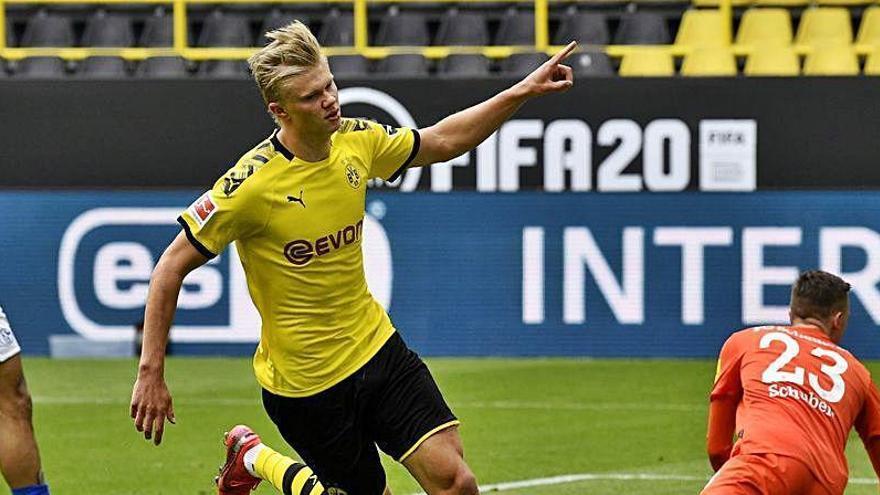 Haaland avisa al Dortmund de su futuro