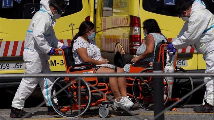 Sanidad notifica 37.889 nuevos casos en España, 3.750 en 24 horas, y 217 muertes más