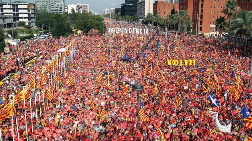 La manifestació de la Diada reclamarà unitat amb epicentre a la plaça d'Espanya