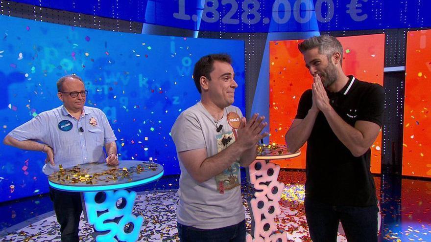 """El """"tongo"""" que permitió a Pablo Díaz llevarse el rosco de Pasapalabra en Antena 3"""