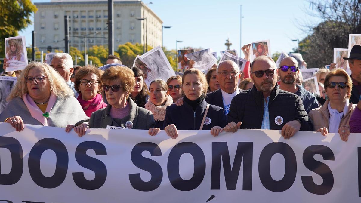 Protestas de la familia de Marta del Castillo.