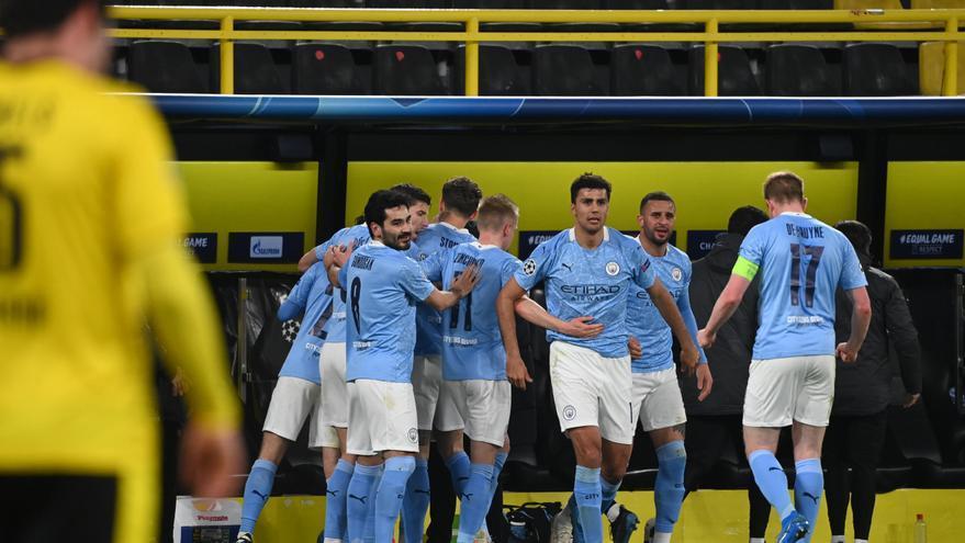 El City sofoca la rebelión del Dortmund