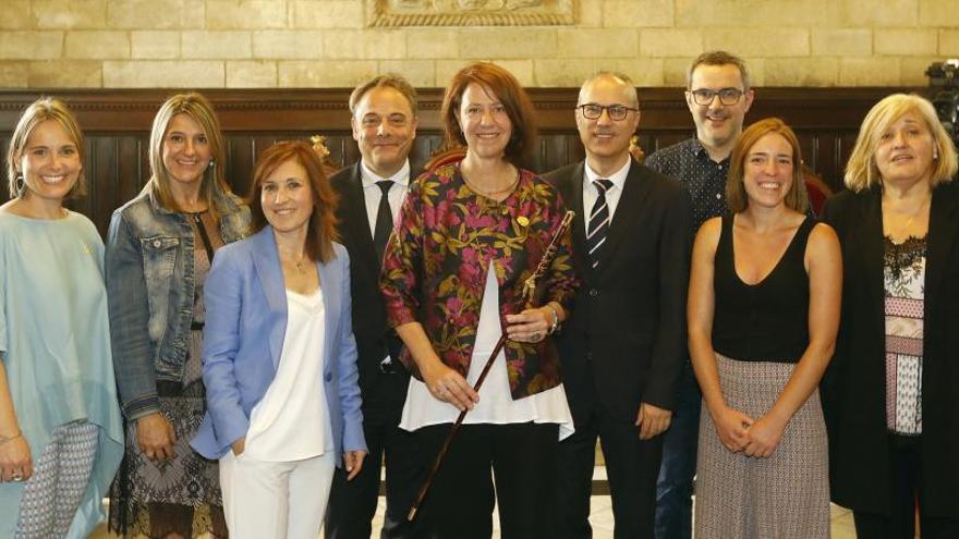 El govern de Girona s'estructurarà en cinc grans àrees