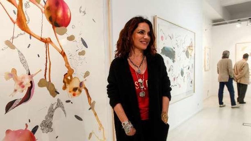 La revolución en papel de la artista Nuria Formentí llega a la galería ovetense Arancha Osoro
