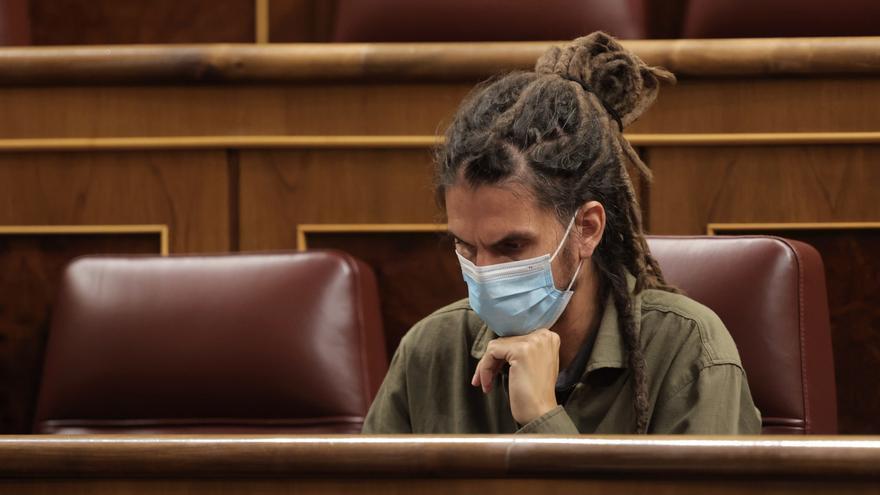 El PSOE 'salva a' Alberto Rodríguez de tener que dejar su escaño en el Congreso