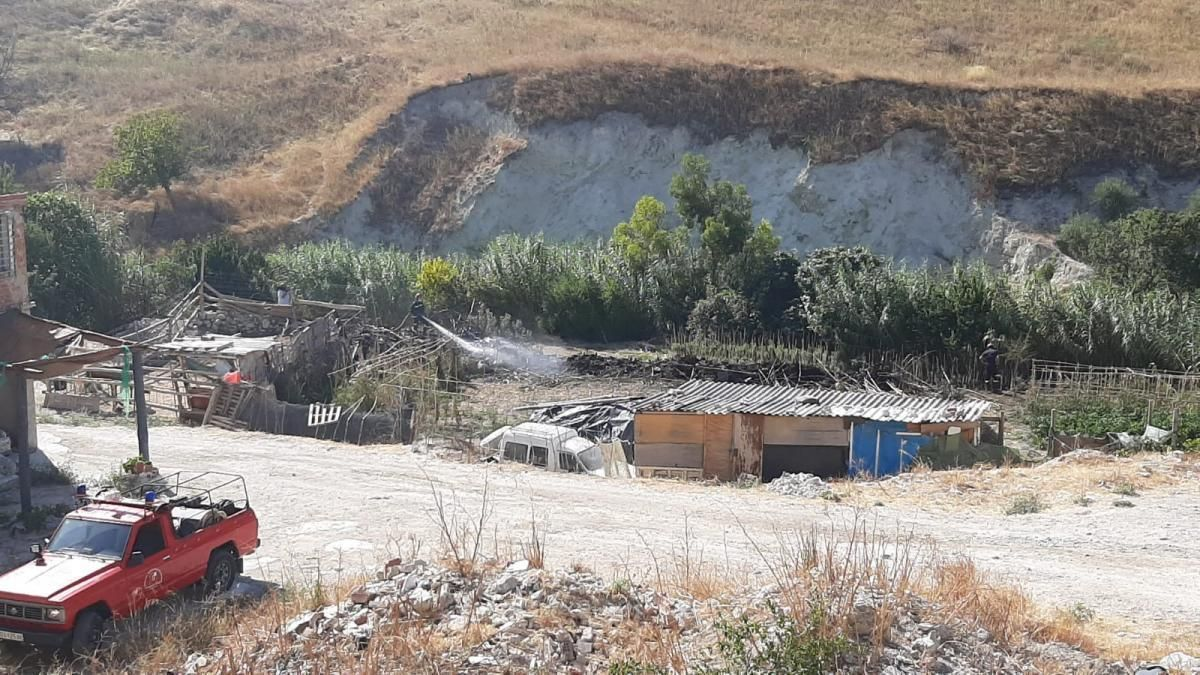 Segundo incendio en la zona del Corralaz de Baena