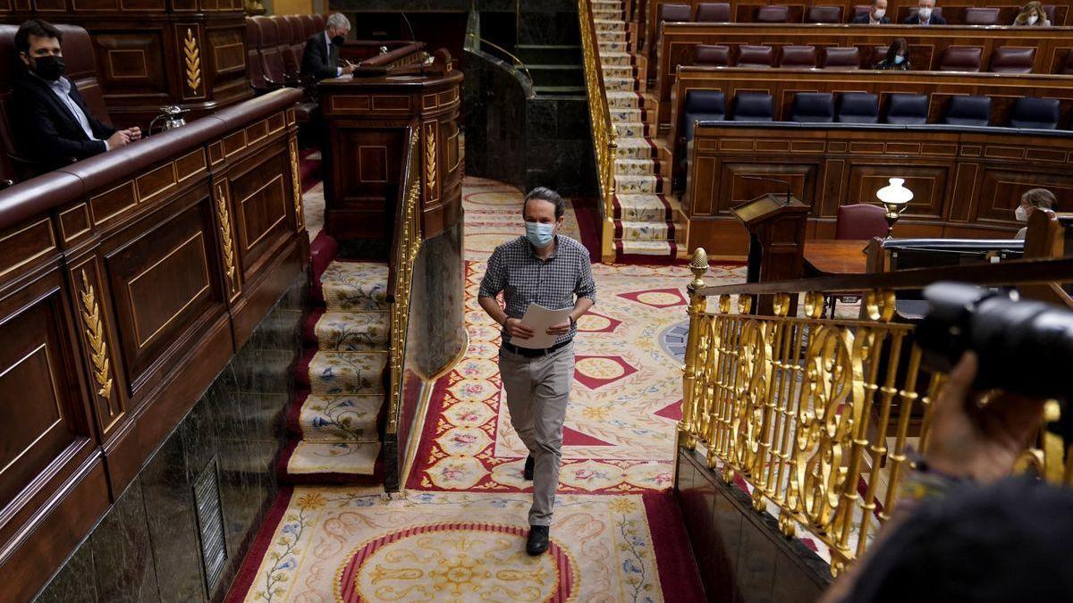 Iglesias entrega su acta y dejará de ser diputado este viernes