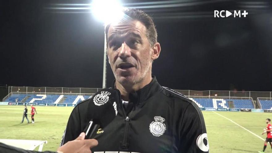 """Luis García, entrenador del RCD Mallorca: """"El equipo va cogiendo las ideas que quiero"""""""