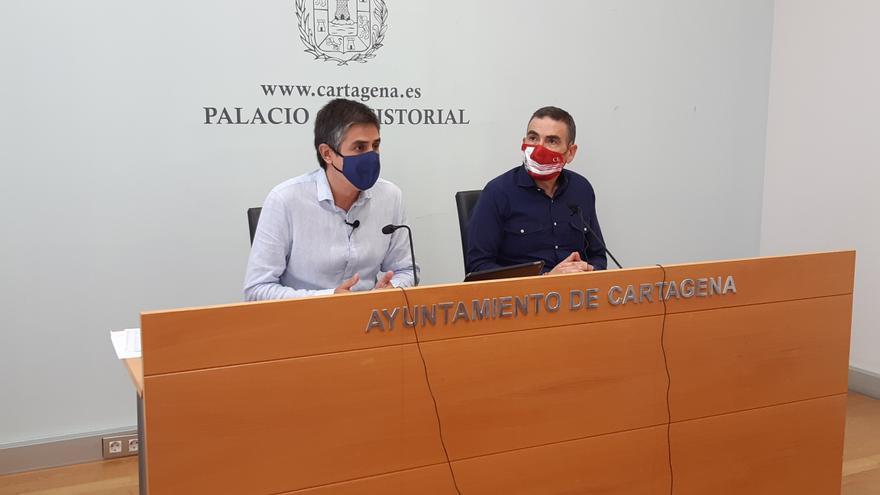 La inversión municipal disminuye un 27% en el nuevo contrato de parques y jardines de Cartagena según MC