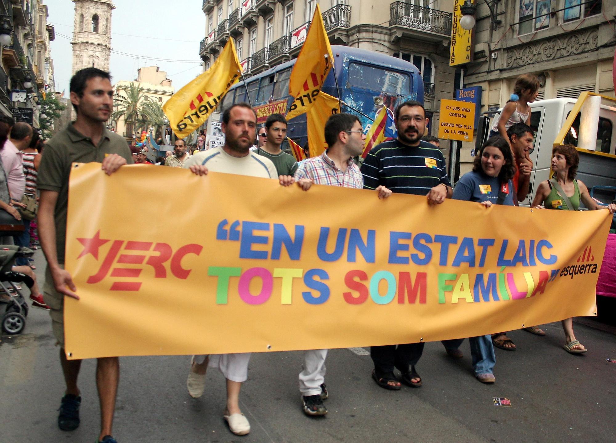 2006, manifestación LGTBI València