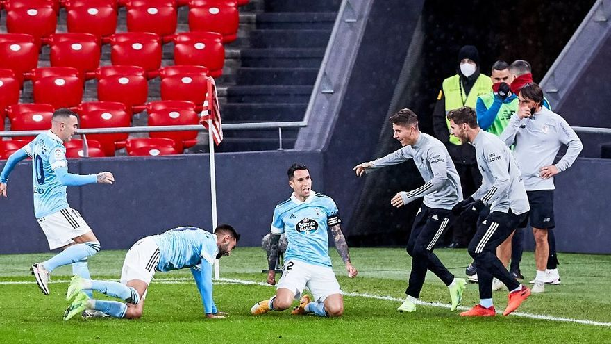 Las mejores imágenes del Athletic - Celta
