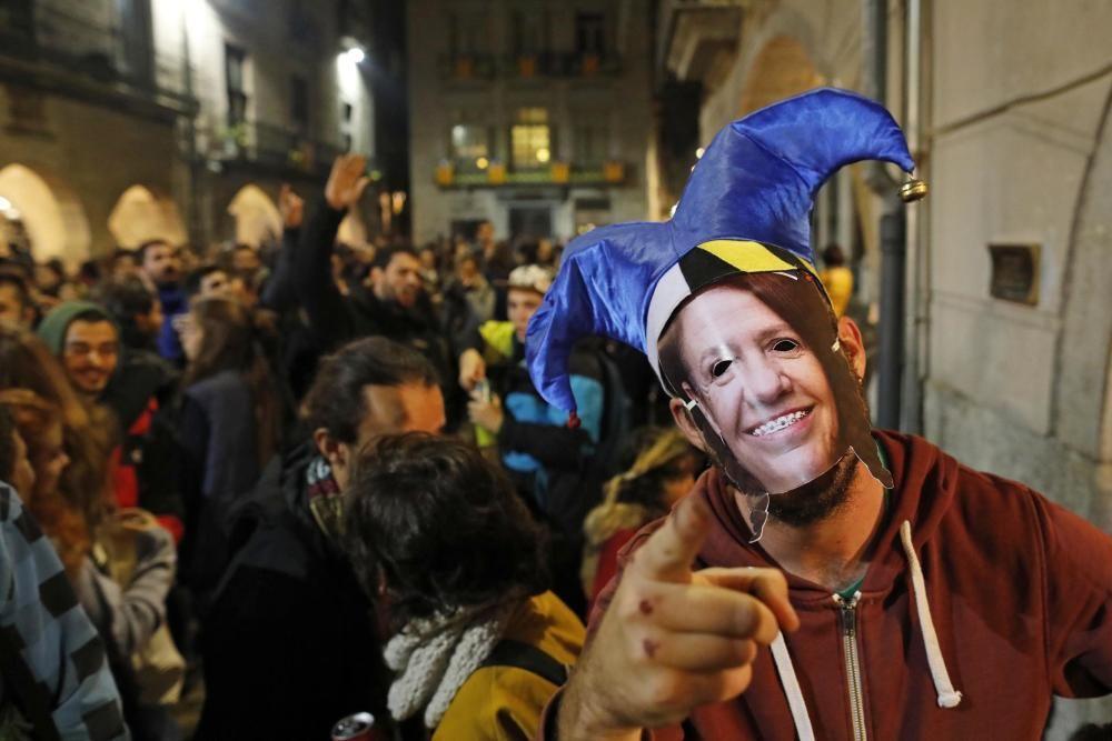 Festa de Barraques a la Plaça del Vi
