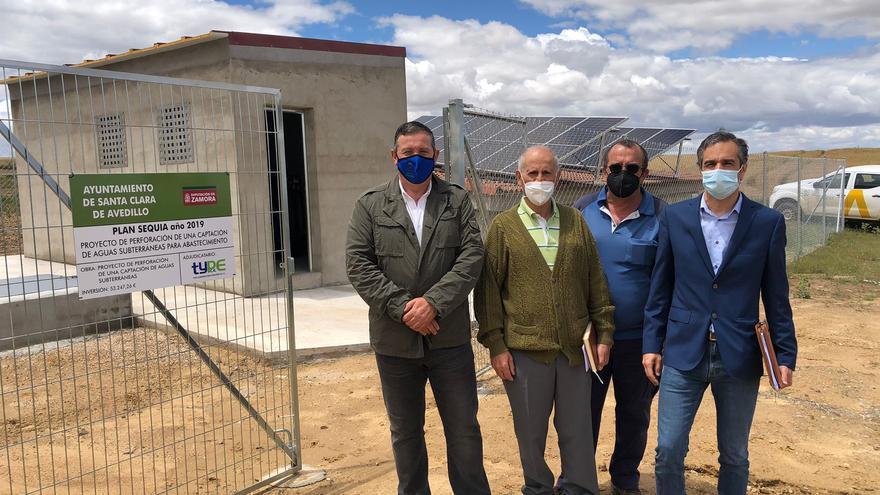 Los vecinos de Santa Clara de Avedillo estrenan nuevo sondeo para el abastecimiento de agua