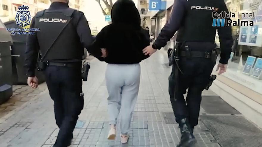 Desarticulada una red que distribuía droga en Palma disfrazados de repartidores de comida