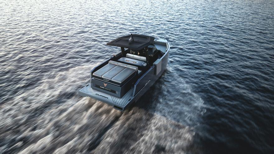 De Antonio Yachts D28 Formentor, un yate de alto rendimiento con el ADN de Cupra