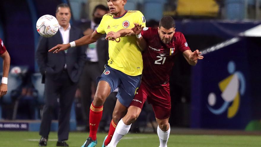 Alexander González, titular de nuevo con Venezuela en la Copa América