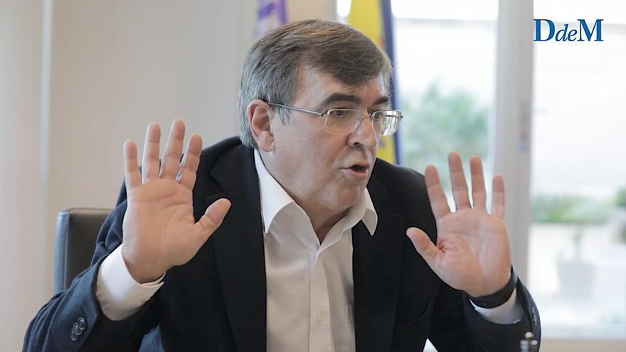 Francesc Antich: «Buscamos fórmulas mejores para conceder amarres por la presión»