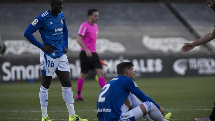 El Oviedo prepara el partido del Lugo con Grippo entre algodones