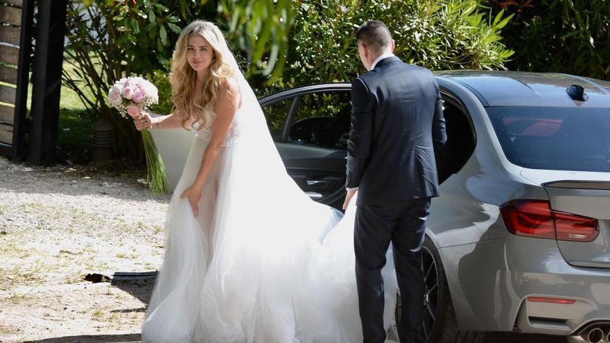 La boda de Iago Aspas y Jenni Rueda