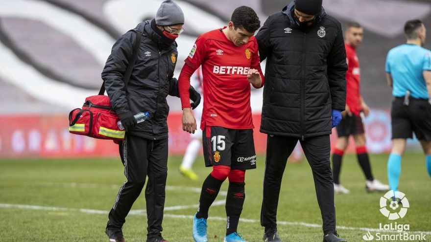 Fran Gámez causará baja un mínimo de tres semanas en el Mallorca