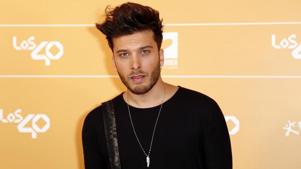 Una imagen de archivo del candidato de España para Eurovisión, Blas Cantó.
