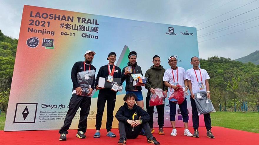 Daniel Pérez, la historia del allandés que triunfa en China ganando carreras de montaña