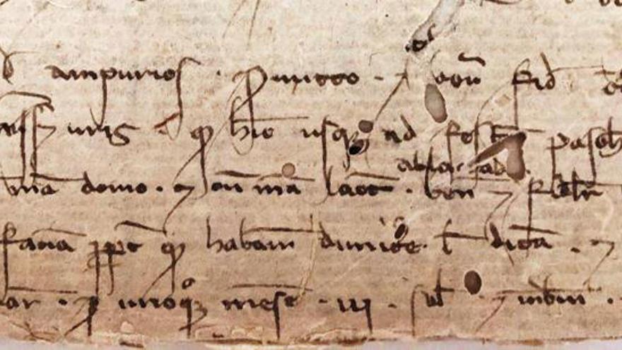 Dos nodrizas asalariadas del siglo XIII, en 'El document del mes' del Arxiu del Regne