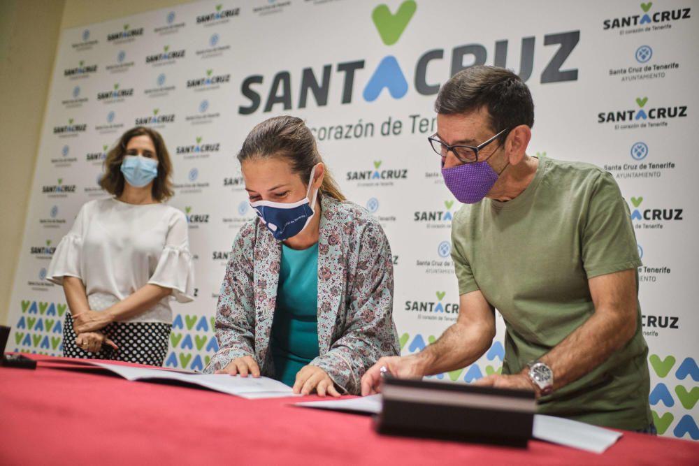 Patricia Hernández anuncia la instalación de ascen