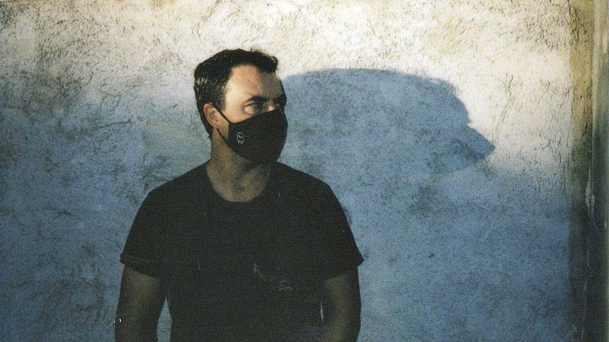 El creador y dibujante argentino Pato Conde, afincado en Mallorca desde hace años.