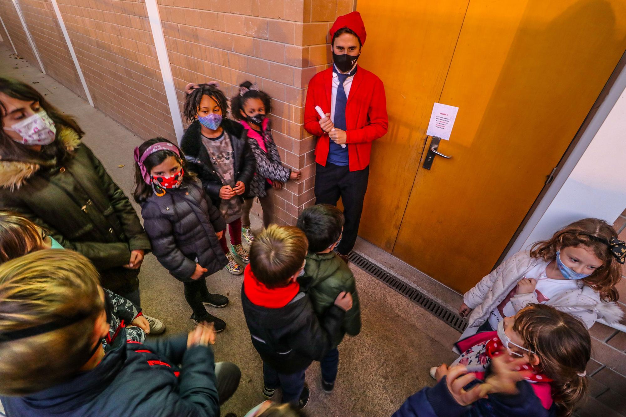 Gincana de Navidad en el Colegio Romeral de Alcoy