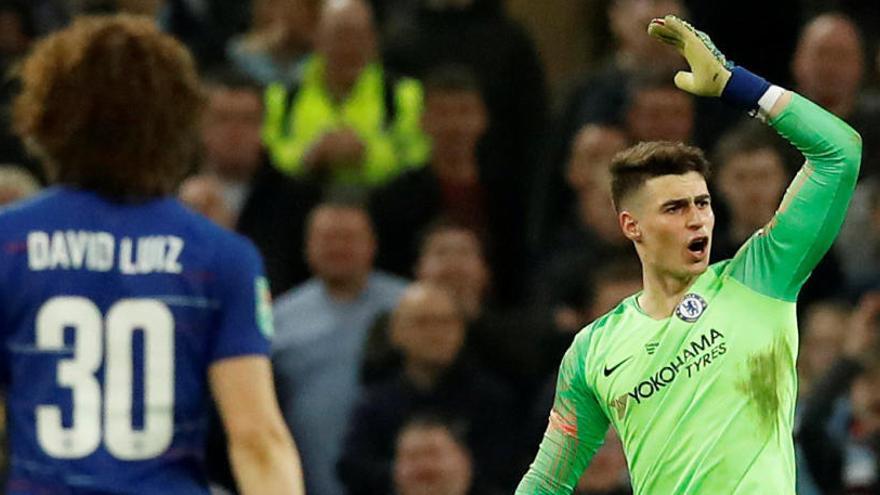 Kepa se niega a ser sustituido y el City gana al Chelsea la Copa de la Liga en los penaltis