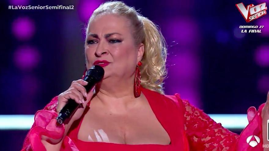 Soledad Luna vuelve a brillar en La Voz Senior aunque se queda a un paso de la final