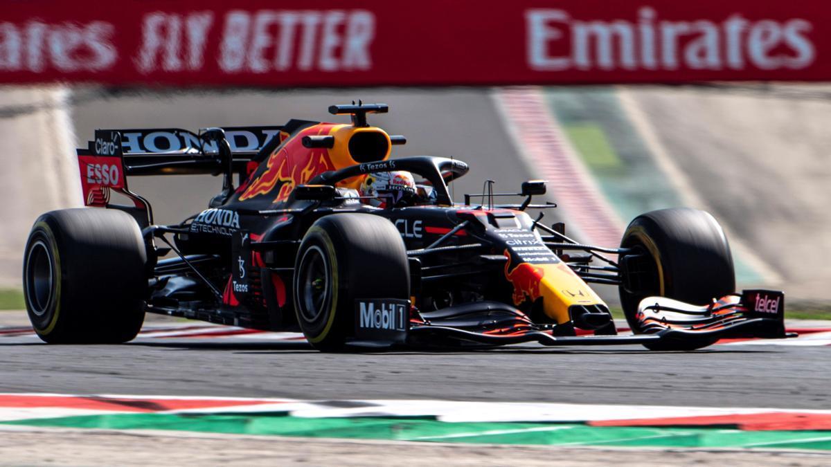 Max Verstappen, en el circuito del Gran Premio de Hungría.