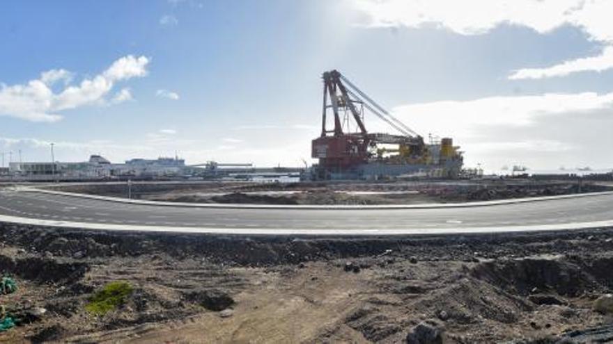 Domingo Alonso inicia los trabajos previos para su terminal del Puerto