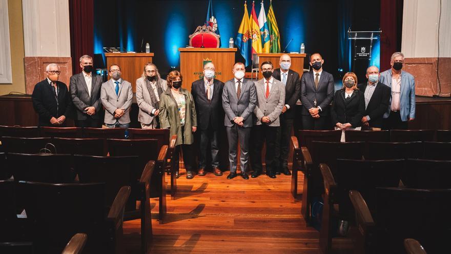 José Fernando Díaz Medina, presidente de los cronistas oficiales de Canarias