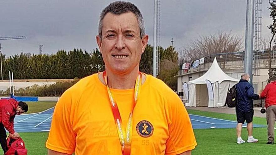 Javier Viteri se proclama campeón de España de jabalina