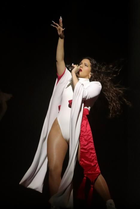 El último concierto en España de la gira de Rosalí