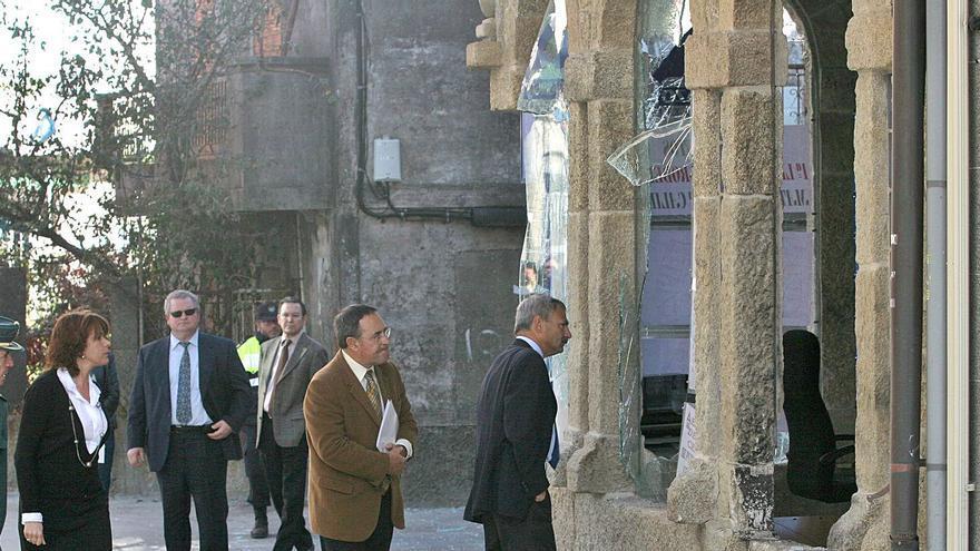 Resistencia Galega sigue como sospechosa de la bomba de hace 13 años en O Forte