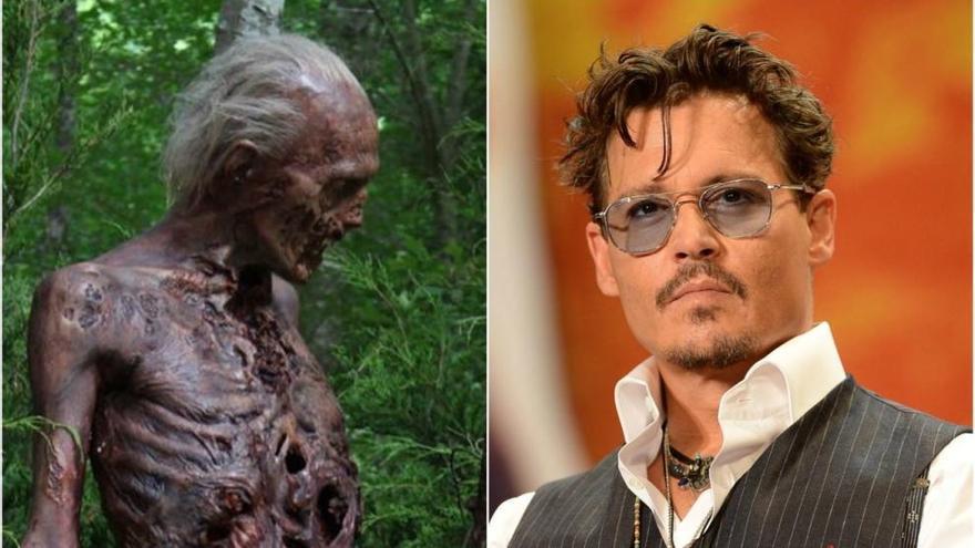 """El """"cameo"""" de Johnny Depp en 'The Walking Dead'"""