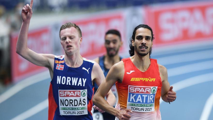 Mohamed Katir pierde el podio en los últimos veinte metros