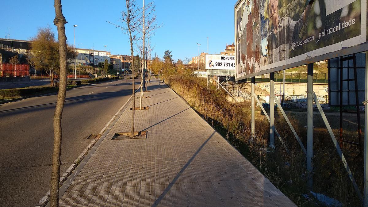 Una de las zonas donde se instalarán barandillas de protección.