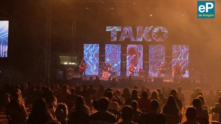 Así fue el concierto de Tako en Ejea de los Caballeros