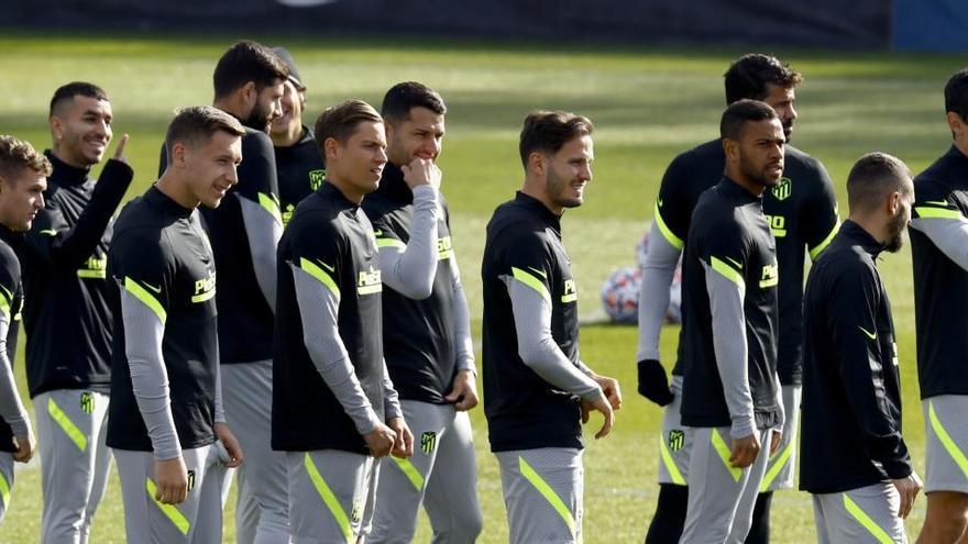 El Atlético busca ganar al Lokomotiv para evitar enredos
