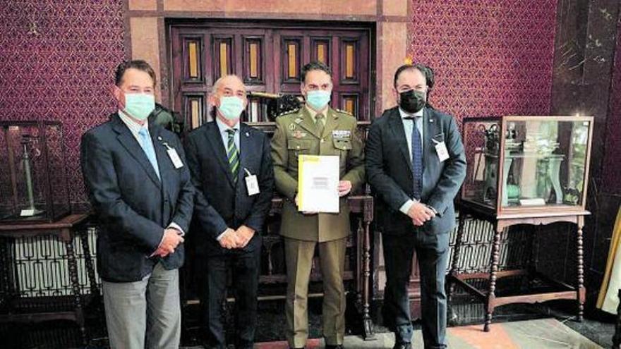 Las Cámaras formarán al personal del Ejército licenciado con 45 años